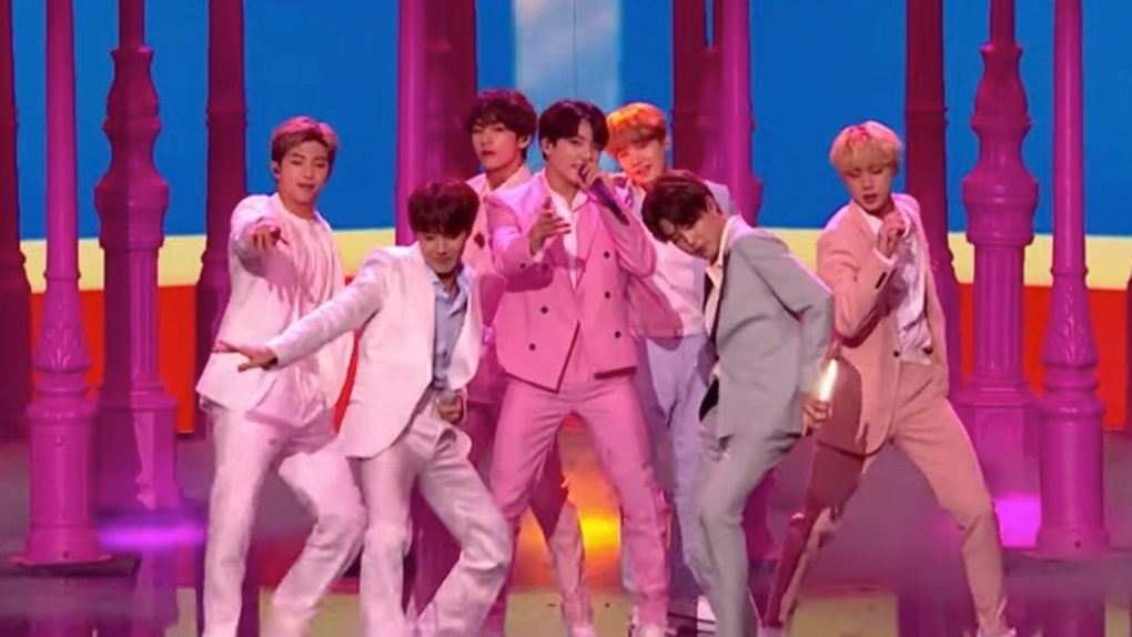 The Video Of BTS' 'Britain's Got Talent' Performance Of