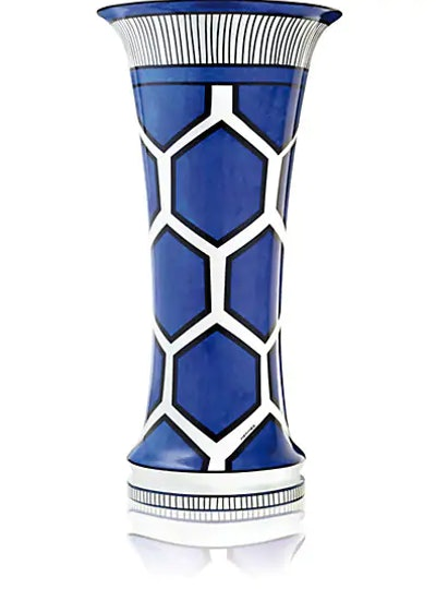 HERMÈS Bleus D'Ailleurs Very Large Vase