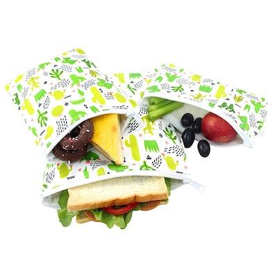 Langsprit Premium Reusable Sandwich & Snack Bags (Set Of 3)
