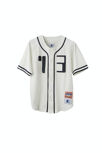 Baseball shirt off white