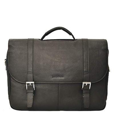 Leather Flapover Case