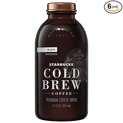 Cold Brew Coffee, Black Sweetened