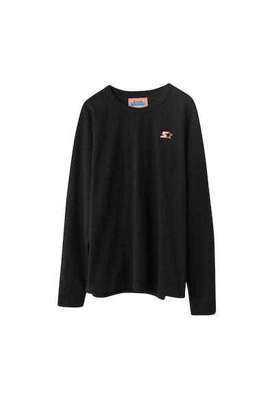 Long sleeved t-shirt black