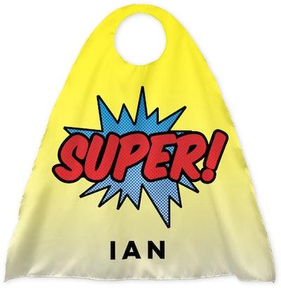 Comic Super Kids Cape