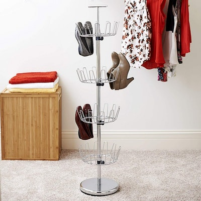 Household Essentials Revolving Shoe Rack