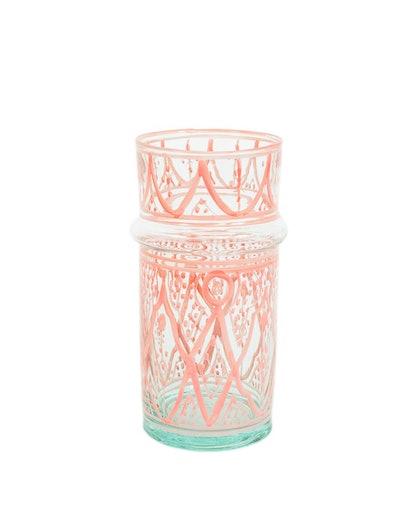 Moroccan Glass Vase