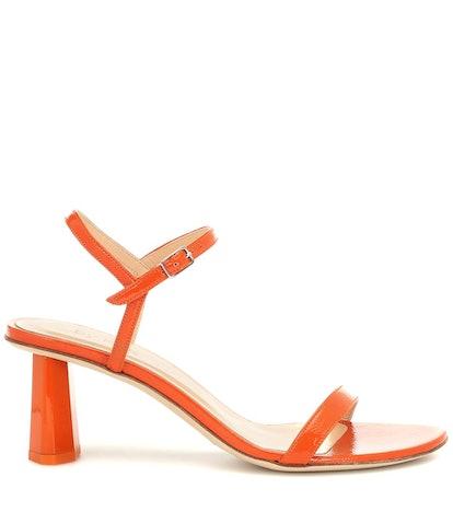 Magnolia Patent Leather Sandals
