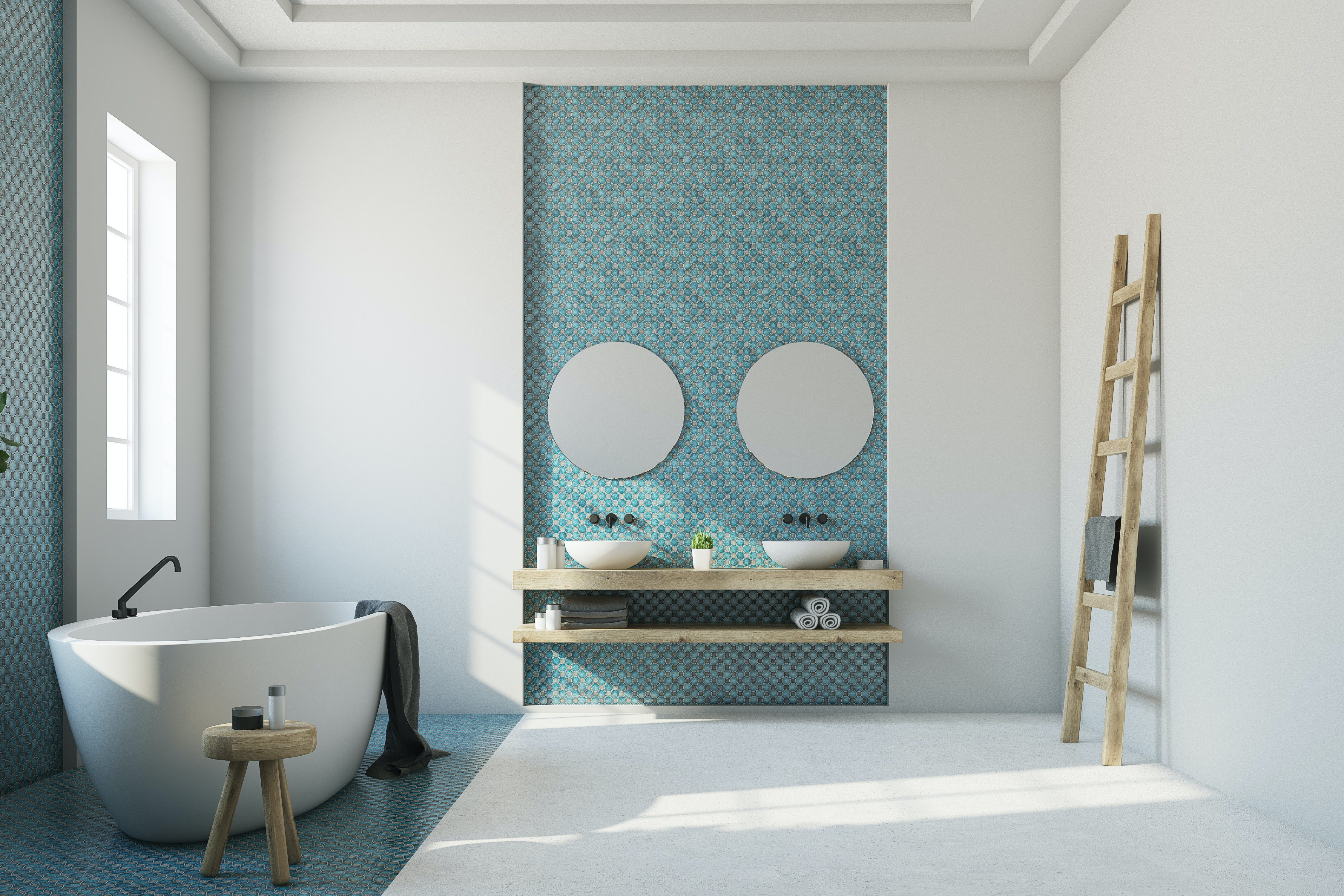 4 Feature Wall Ideas For Your Bathroom That Will Make It Your New