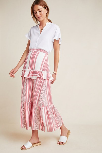 Pixie Tiered Maxi Skirt