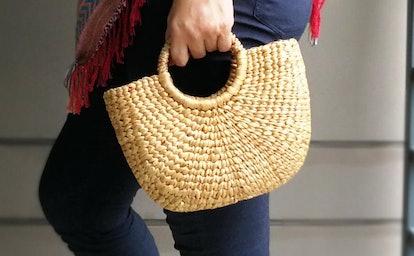 Natural Handmade Straw Bag