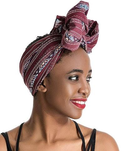 Gemazon Collection Print Head Wrap & Scarf