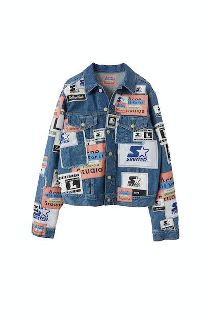 Denim jacket mid blue