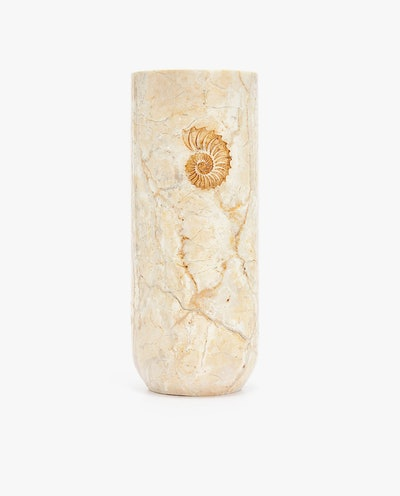 Marble Fossil Vase