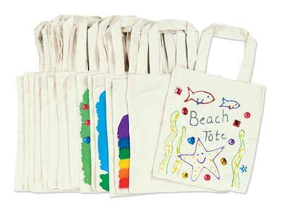 Decorate-Your-Own Tote Bags (Set of 15)