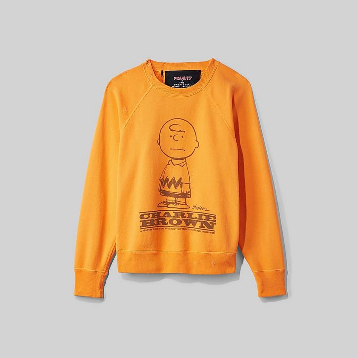 Peanuts x Marc Jacobs The Sweatshirt With Charlie Brown