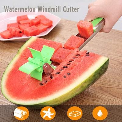 Asruio Watermelon Windmill Cutter