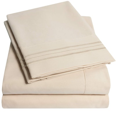 Sweet Home Collection Extra Soft Split King Sheet Set