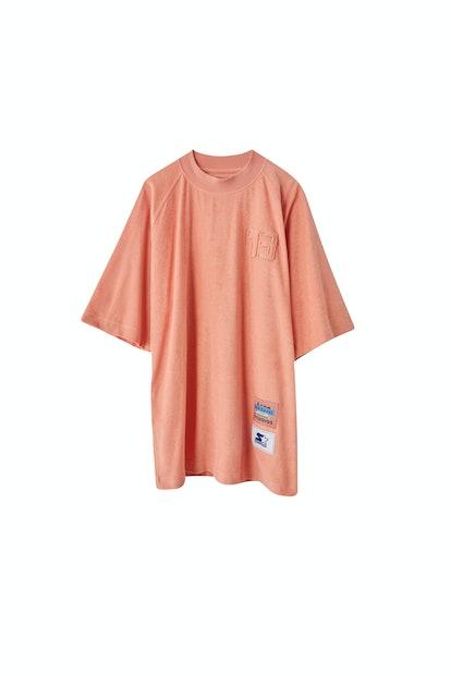 Oversized t-shirt pale pink