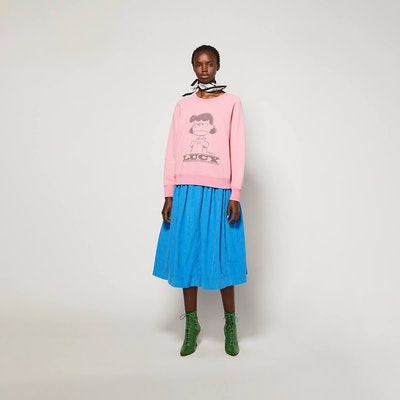 Peanuts X Marc Jacobs The Sweatshirt With Lucy