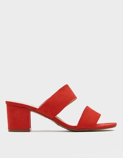Krystal Double Strap Sandals