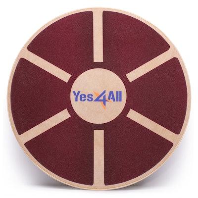 Yes4All Wooden Wobble Dance Board