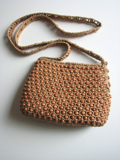 Vintage Woven Purse
