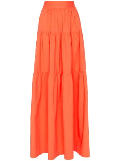 Tiered Maxi-Skirt