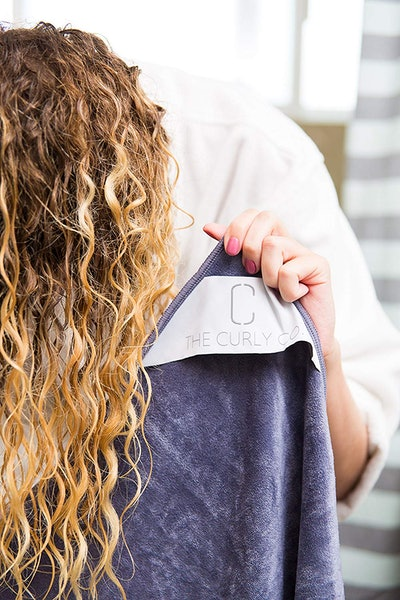 The Curly Co. Extra Large Microfiber Hair Towel