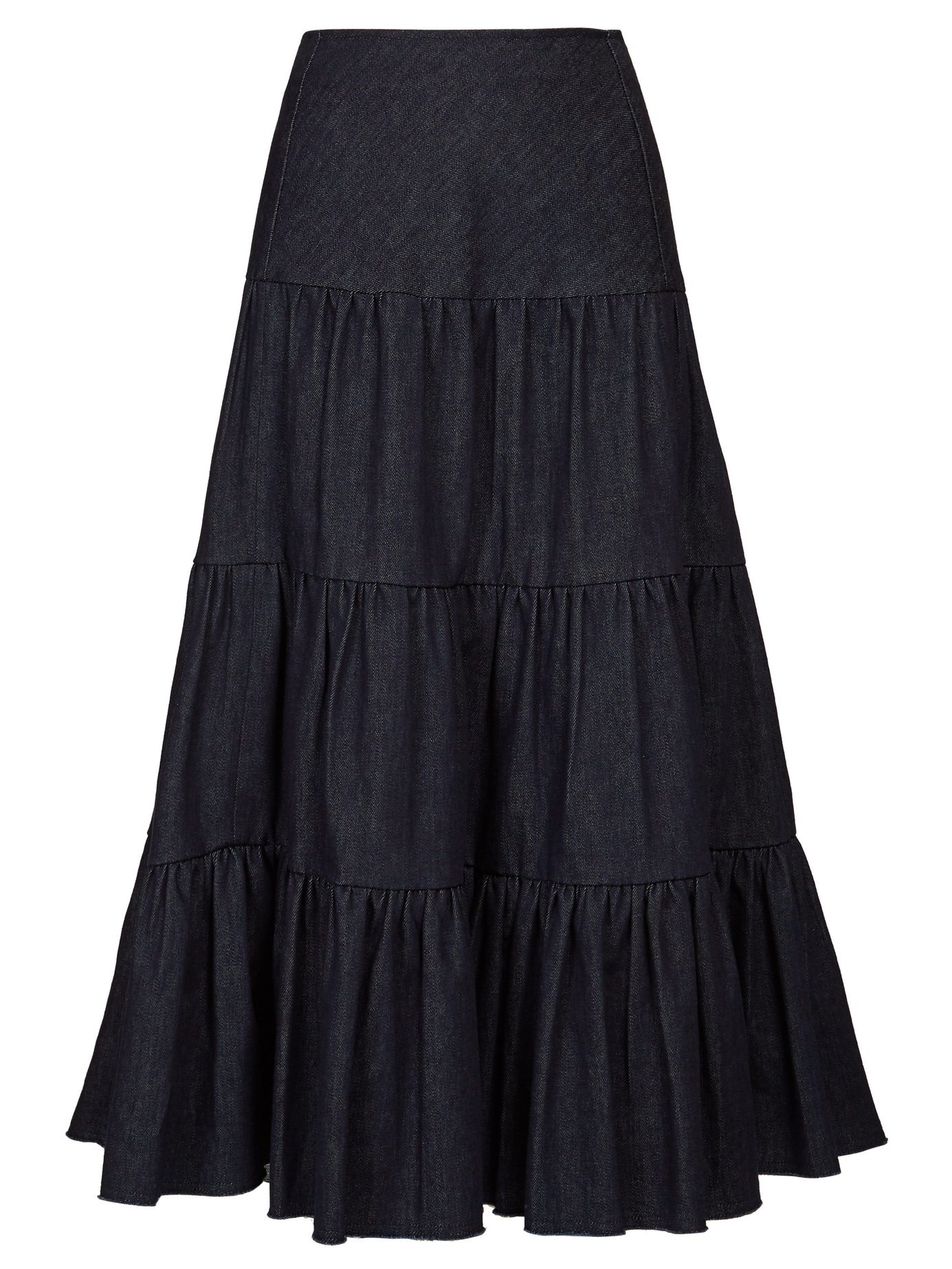 6564d06b05 15 New Tiered Skirts That Prove You Shouldn't Sleep On This Breezy Trend