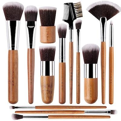Cleof Makeup Brush Set (13 Pieces)