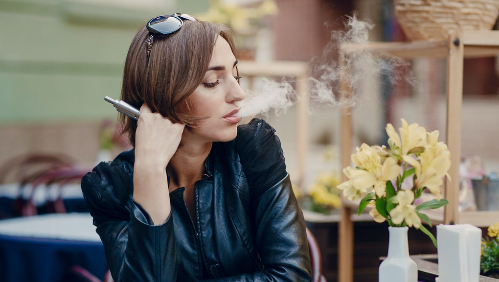 Dry hitting, or trying to smoke an empty e-cig, can result in a burning sensation in the back of the throat.