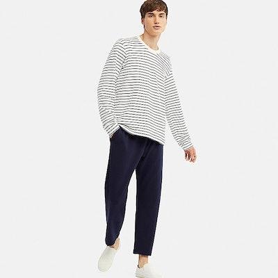 Men's Ultra Stretch Long-Sleeve Sweat Pajama Set
