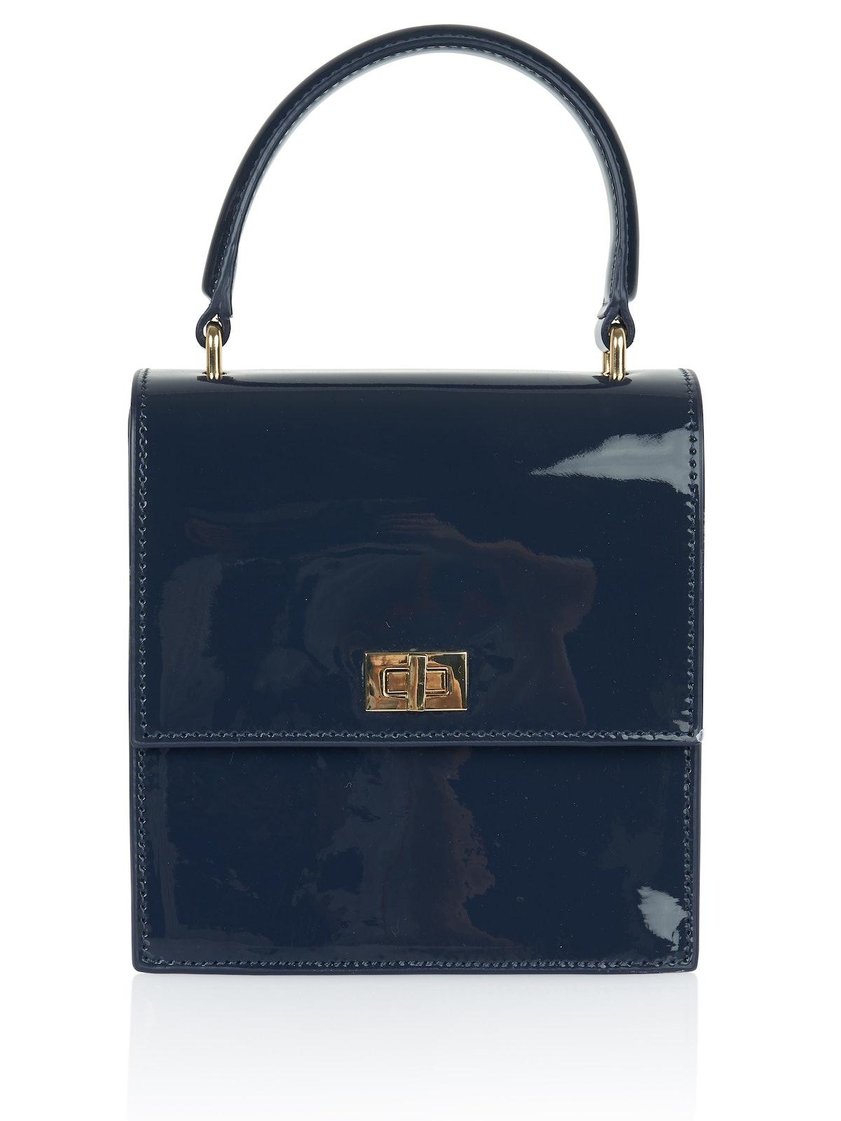 NEELY & CHLOE Mini Lady Navy Bag