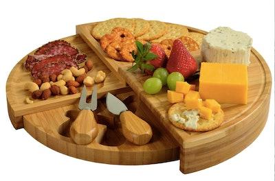 Picnic At Ascot Bamboo Cheese Board