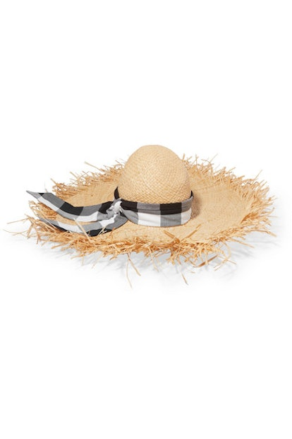 Midnight Ete Gingham Sunhat