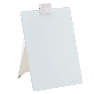 Quartet Glass Whiteboard Desktop Easel