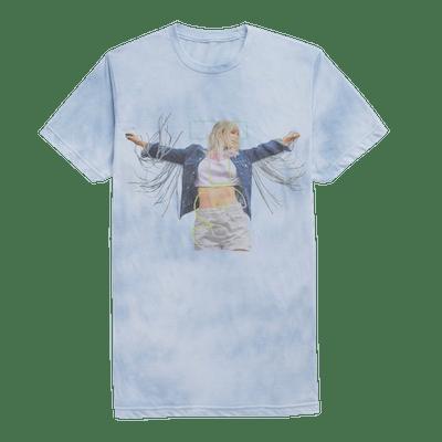 Taylor Swift Blue Tie-Dye Tee
