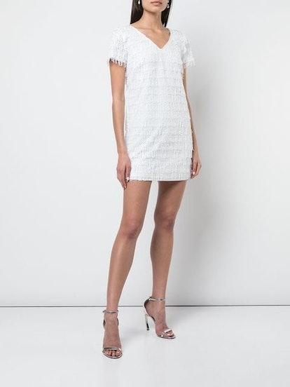 Sequin Fringe T-shirt Dress