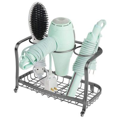 mDesign Hair Care & Styling Tool Organizer Holder