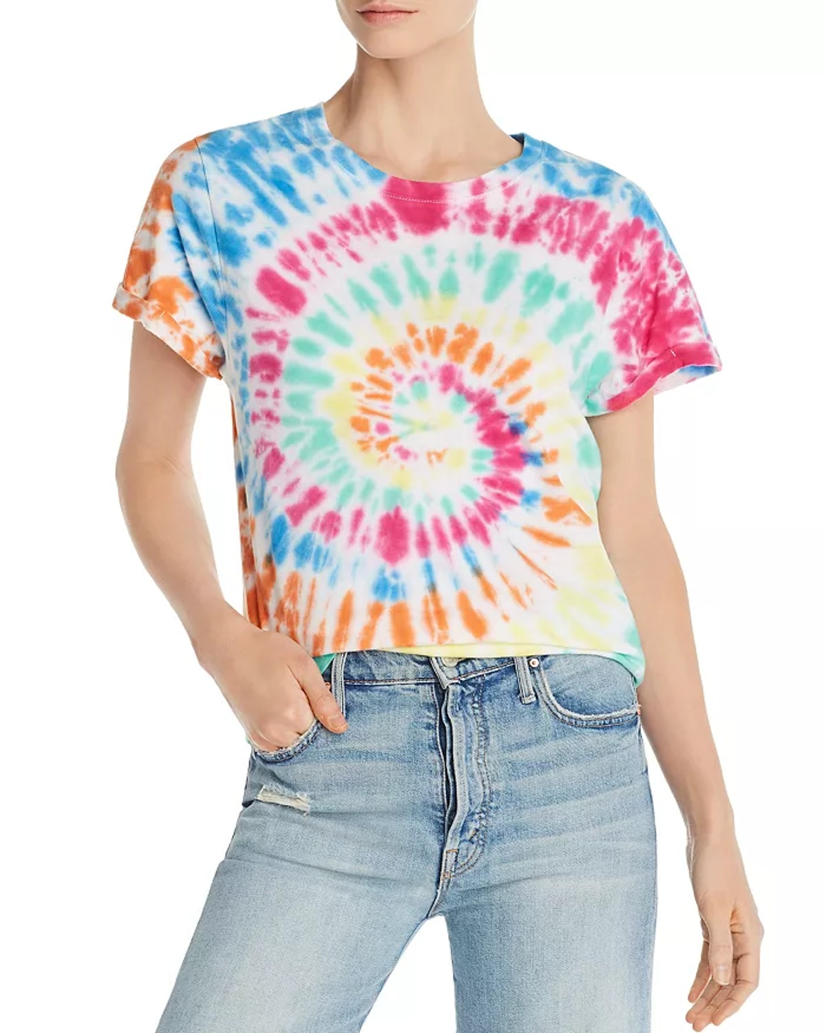 PRINCE PETER Spiral Tie-Dyed Tee