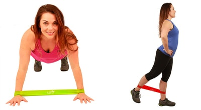 Fit Simplify Resistance Loop Exercise Five Bands