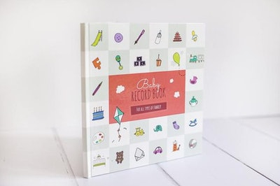 Baby Record Book for Same Sex, Gay and Lesbian Families