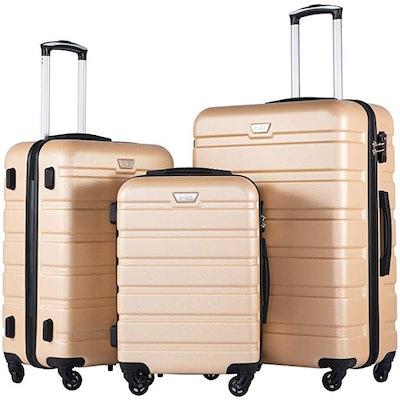 Coolife Luggage Set (3 Piece)