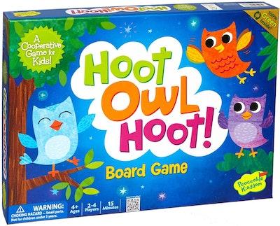 Peaceable Kingdom Hoot Owl Hoot! Board Game
