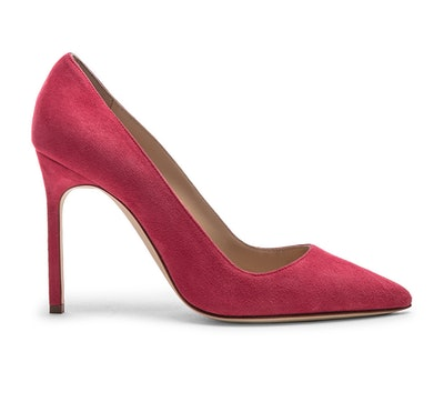 BB Suede Pumps In Pink