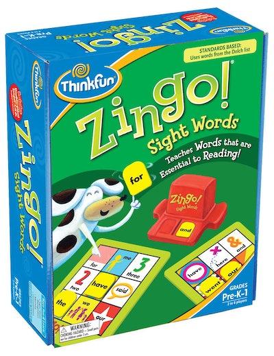 ThinkFun Zingo Sight Words Game