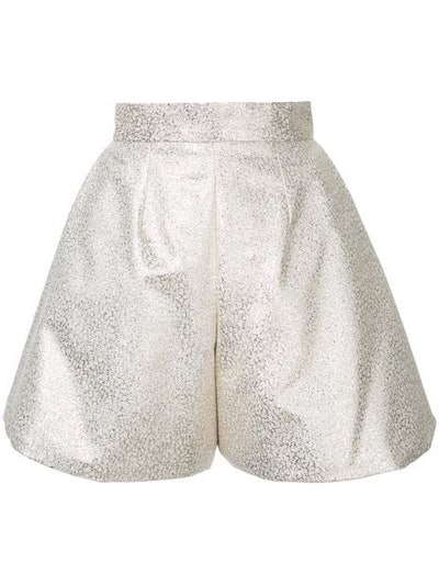 Glitter Pleated Culottes