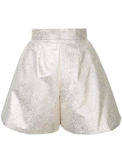Glitter Pleated Culottes