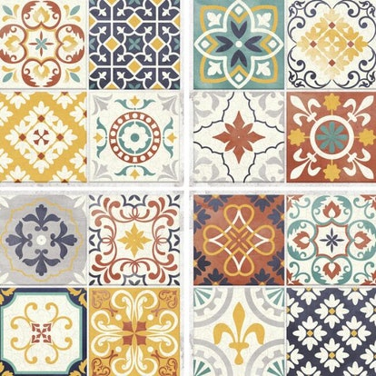 Multicolor Mosaic Peel And Stick Tiles