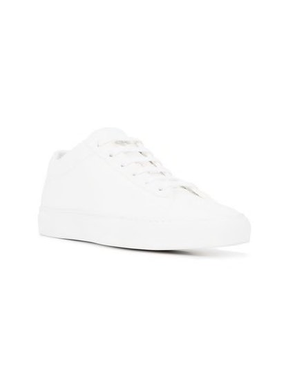 Capri Bianco Canvas Sneakers